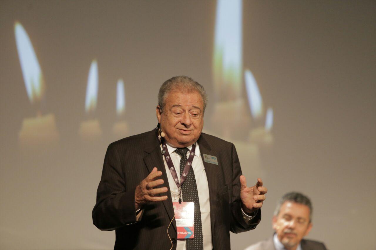 Allysson Paolinelli, presidente executivo da Abramilho durante o seu speech.